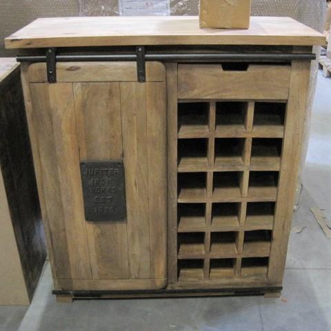 Dressoir 90 Cm Breed.Factory Dressoir Schuifdeur Wine