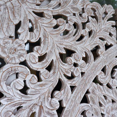 wandpaneel houtsnijwerk white wash pinar 3-luik 180 bij 180 cm12