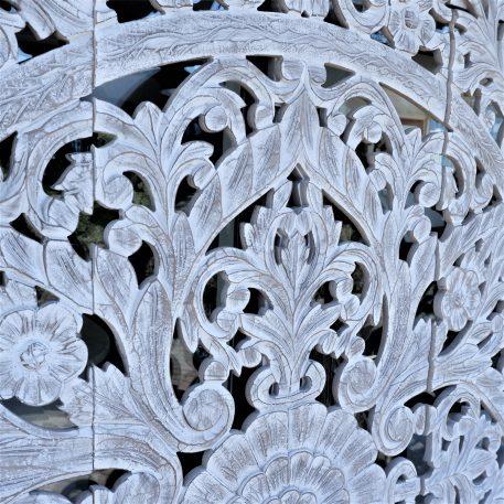 wandpaneel houtsnijwerk white wash pinar 3-luik 180 bij 180 cm5