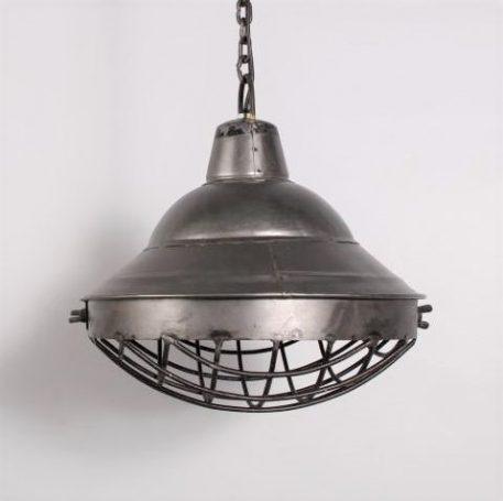 hanglamp industrial staal sylt antraciet diameter 30 cm