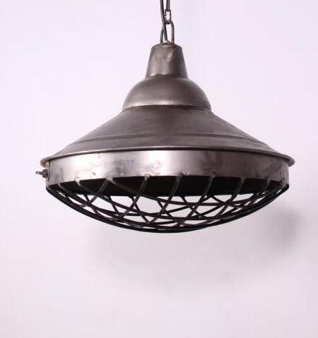 hanglamp industrial staal sylt antraciet diameter 40 cm