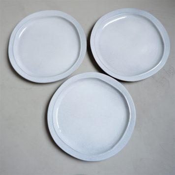 ib-laursen grey dunes dinerbord dinner plate stone ware hoog 3 cm diameter 28 cm1