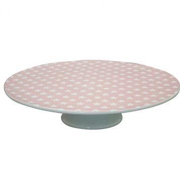 krasilnikoff taart plateau ster roze2