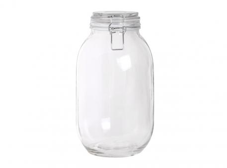 ib-laursen glazen voorraadpot weckpot hoog26.5 cm diameter 17 cm inhoud 4 liter5