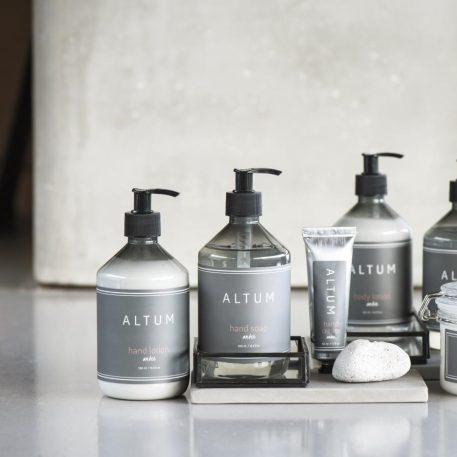 ib laursen hand lotion en hand soap altum amber 500 ml hoog 18 cm diamter 8 cm