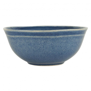 ib laursen muesli kom bowl blue dunes hoog 6.2 cm diameter 15 cm2