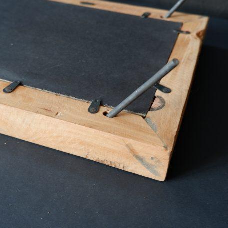 fotolijsten truckwood achterzijde met pennen