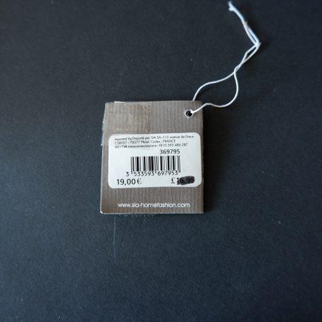 sia home fashion kerstman voor waxinelichtje wit porselein met zilver hoog 20 cm breed 12 cm diameter 9.5 cm2