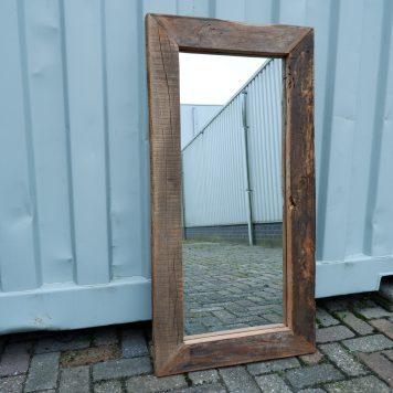 spiegel truckwood rechthoek 60 x 120 cm