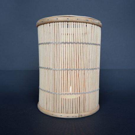 bamboo hurricane hoog 20 cm diameter 15 cm sfeerlicht bamboo ib-laursen