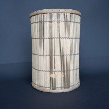 bamboo hurricane hoog 25.5 cm diameter 18 cm sfeerlicht bamboo ib-laursen