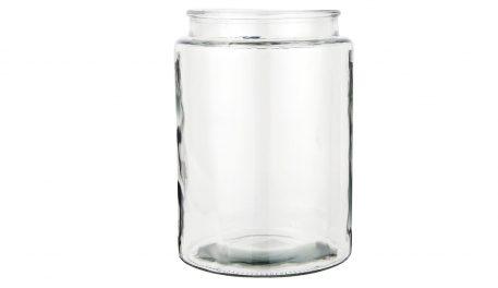glazen vaas mond geblazen cilinder glas hoog 27 cm diameter 19 cm ib-laursen2