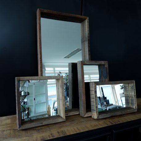 spiegels truckwood rechthoek en vierkant