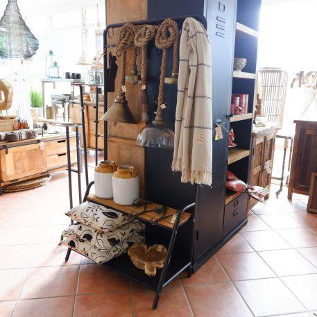 hanglampen touw met metalen kap met glazen kap en houten fitting verschillende touwlampen2