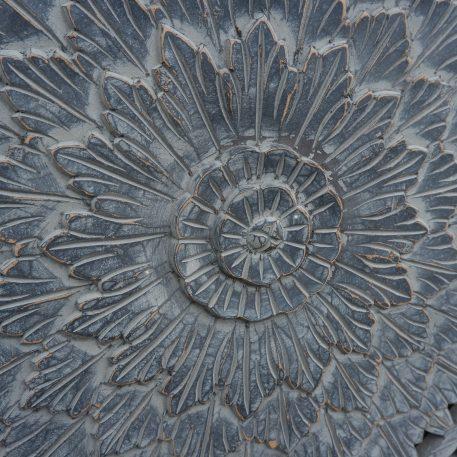 wandpaneel houtsnijwerk barcelona 120 x 120 cm ash grey12