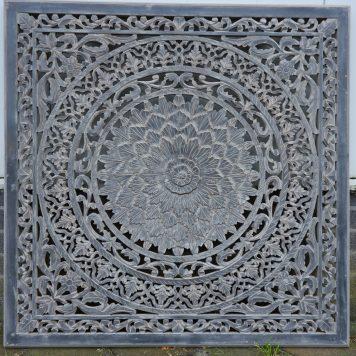wandpaneel houtsnijwerk barcelona 120 x 120 cm ash grey8
