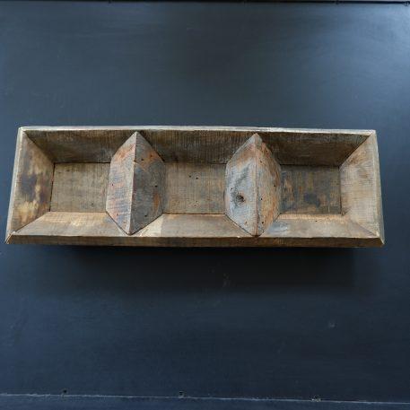 barnwood 3 vaks dienblad breed 60 cm diep 20 cm truckwood railway wood