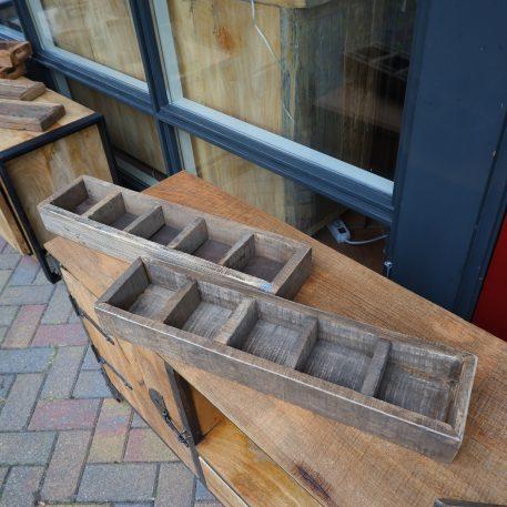 barnwood 5 vaks dienblad breed 60 cm diep 15 cm tray truckwood railway wood2