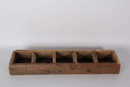 barnwood 5 vaks dienblad breed 60 cm diep 15 cm truckwood railway wood