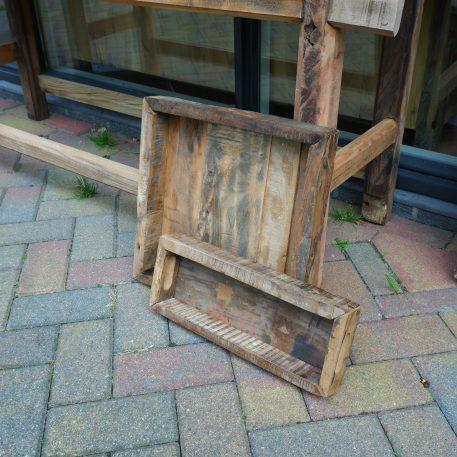 barnwood dienblad hoog 6 cm breed 39 cm diep 15 cm truckwood railway wood oud hout6