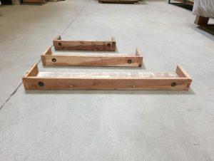 barnwood railway wood truckwood wandplanken breed 80 cm 60 cm en 45 cm diep 15 cm hoog 7 cm oud historisch hout1