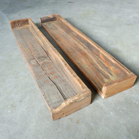 barnwood wandplank breed 80 cm diep 15 cm hoog 7 cm railway wood1