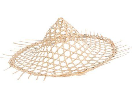 hat wanddecoratie hoed pitriet naturel diameter 55 cm hoog 16 cm5