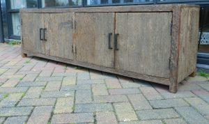 barnwood meubel railway wood truckwood tv meubelen kasten ladekasten
