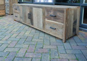 barnwood meubel railway wood truckwood tv meubelen kasten ladekasten1