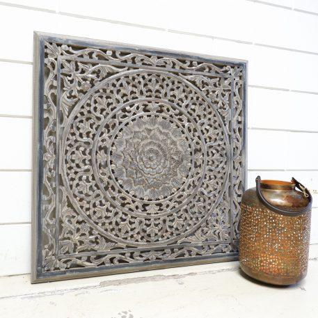 wandpaneel 90x 90 cm barcelona ash grey houtsnijwerk vierkant