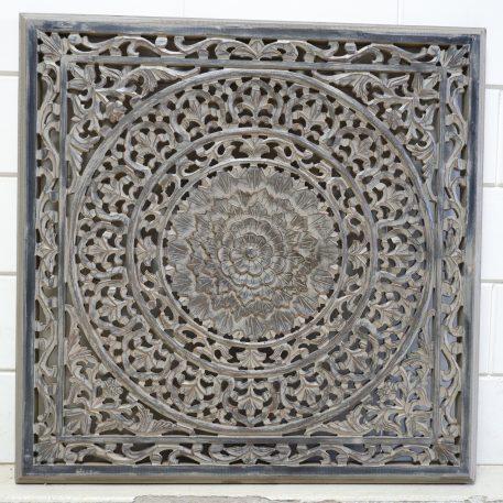 wandpaneel 90x 90 cm barcelona ash grey houtsnijwerk vierkant1