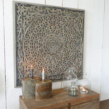 wandpaneel 90x 90 cm barcelona ash grey houtsnijwerk vierkant5