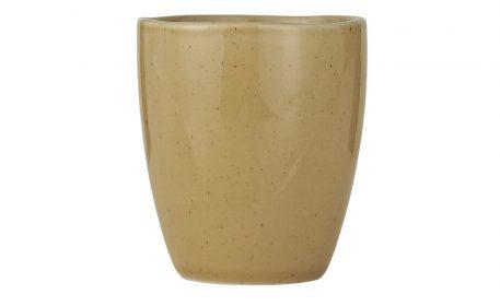 ib-laursen mustard dunes steengoed beker zonder oor mok steengoed mug stone ware hoog 9 cm diameter 8 cm.jpg1