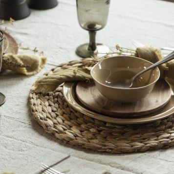 ib-laursen mustard dunes muesli kom bowl stone ware hoog 6.2 cm diameter 15 cm1