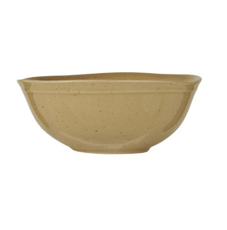 ib-laursen mustard dunes muesli kom bowl stone ware hoog 6.2 cm diameter 15 cm2