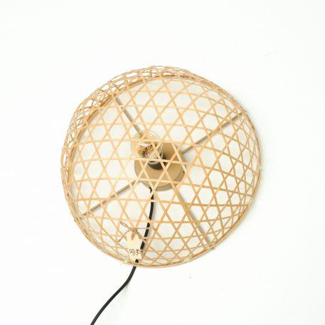 bamboo wandlamp rond diameter 40 cm diep 19 cm3