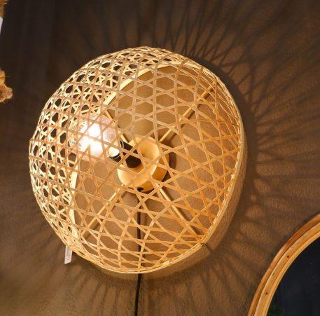 bamboo wandlamp rond diameter 40 cm diep 19 cm5