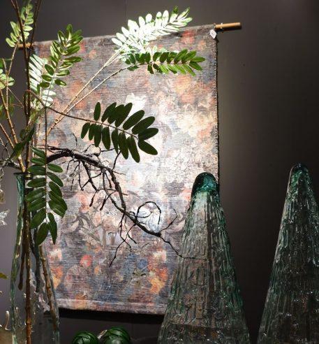 bloemen vloerkleed wandkleed flowers vintage breed 123 cm lang 173 cm5